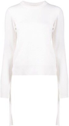 Chloé Draped Strap Knitted Jumper