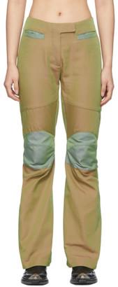 KIKO KOSTADINOV Green Ada Knee Trousers
