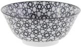 Design Studio Tokyo Nippon Black Bowl - Stripe