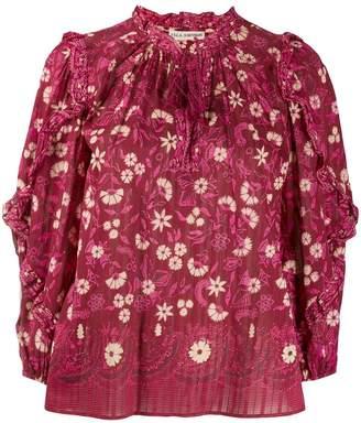 Ulla Johnson Tasselled Floral-Print Blouse