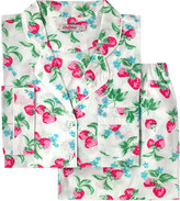 Cath Kidston Strawberry Cotton Lawn Long Pj Set