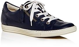 Paul Green Women's Carmel Zip Low-Top Sneakers