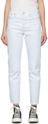 Levi's Levis Blue Wedgie Fit Icon Jeans