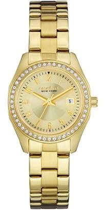 Caravelle Women's 44M108 Gold Finish Watch