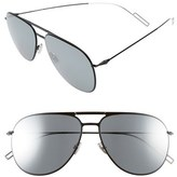 Christian Dior Men's 59Mm Aviator Sunglasses - Gold Metallic