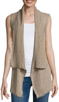 Almost Famous Sleeveless Cardigan Juniors
