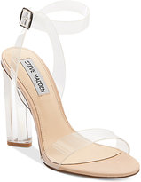 Steve Madden Women's Teena Lucite Dress Sandals