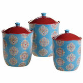 Certified International Spice Route 3-pc. Canister