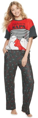 Licensed Character Disney's Winnie the Pooh Pajama Tee & Pajama Pants Set