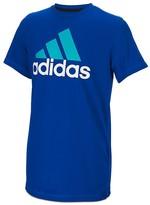 adidas Boys' Clima Performance Logo Tee - Sizes 4-7