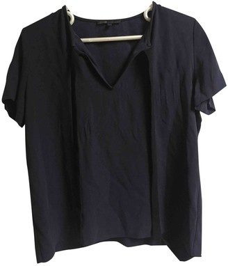 Maje Navy Top for Women
