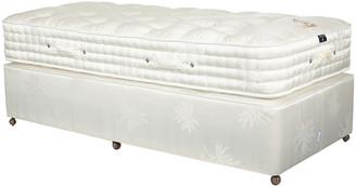 OKA Deluxe Single Mattress & Divan Bed - White