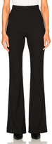 Pierre Balmain Flare Trouser Pant in Black.
