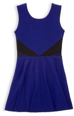 Sally Miller Girl's Mesh Fit-&-Flare Dress