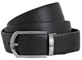 Montblanc Curved Horseshoe Pin Buckle Belt
