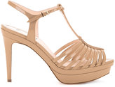 Fendi T-bar sandals - women - Calf Leather - 36