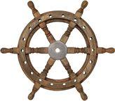 Linea Ships Wheel Ornament