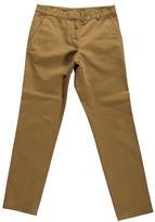 Dries Van Noten Straight-Leg Khaki Pant