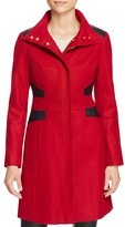 Via Spiga Funnel Neck Coat