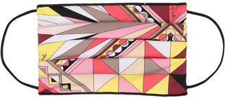 Emilio Pucci Abstract Print Face Mask