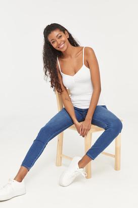 Ardene High Rise Slip-on Jeans