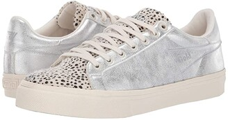 Gola Orchid II Cheetah (Off-White/Silver) Women's Shoes