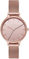 Skagen Women's Anita Rose Gold-Tone Stainless Steel Mesh Bracelet Watch 30mm SKW2413