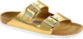 Birkenstock Arizona Soft Bed Narrow Metallic Sandal - Women's
