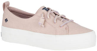 Sperry Crest Vibe Platform Canvas STS84422 Rose Dust Sneaker