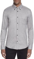BOSS Rubens Flannel Slim Fit Button Down Shirt