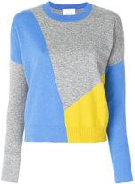 Allude colour block jumper - women - Cashmere - S