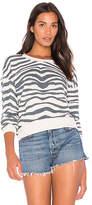 Splendid Zebra Sweatshirt