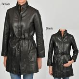 Carter's Knoles & Carter Women's Belted Leather Jacket