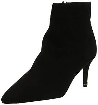Dune Women's Obsessed Ankle Boots, Black (Black-Suede Black-Suede), 8 (41 EU)