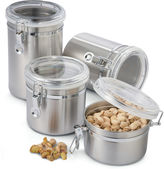 Oggi OGGITM 4-pc. Stainless Steel Canister Set