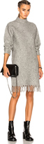 Alexander Wang Fringe Hem Dress
