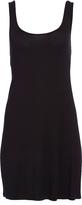 Pure Style Girlfriends Black Low-Back Sleeveless Dress