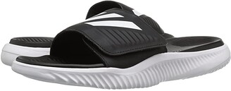 adidas Alphabounce Slide (Footwear White/Core Black) Men's Slide Shoes