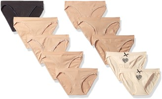 Barely There Women's 10-Pack Flex to Fit Seamless Bikini