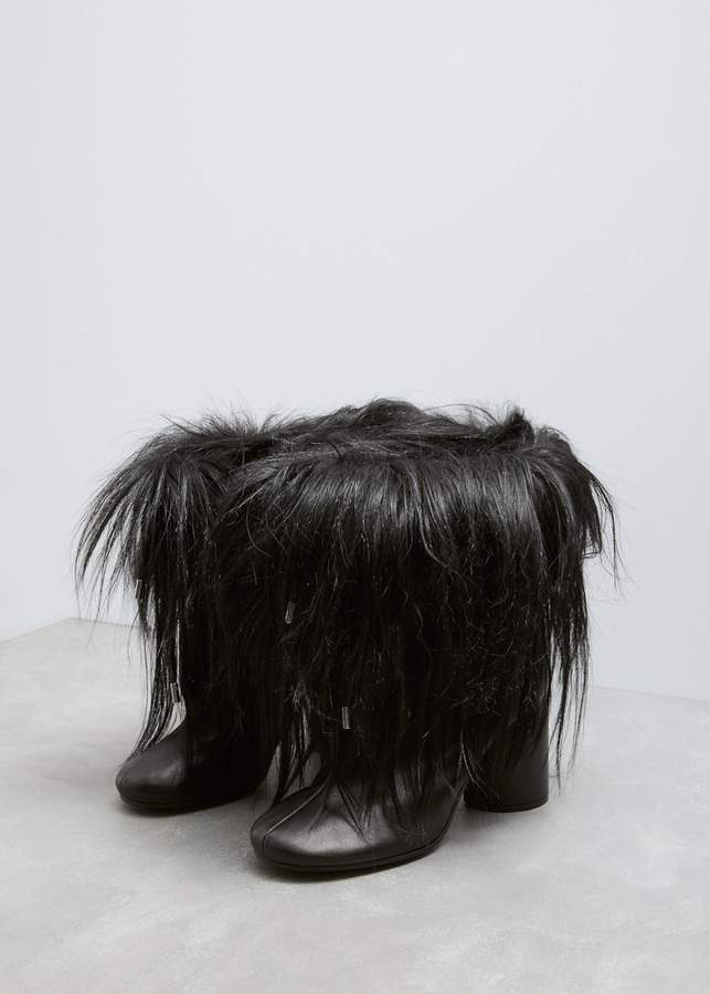 Maison Margiela Short Hair Ankle Boot