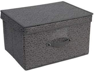 Simplify Grey Embossed Nest Jumbo Storage Box