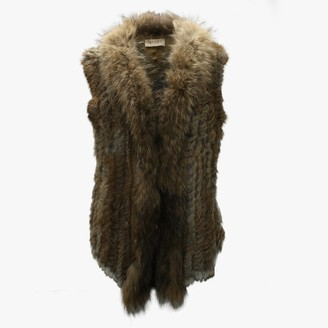 Jayley Kim 3 Tan Fur Gilet