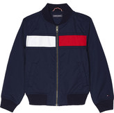 Tommy Hilfiger Cotton flag bomber jacket 4-16 years