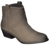 Mossimo Women's Kendall Booties - Taupe