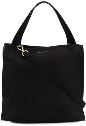 Orciani logo top-handle tote