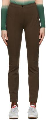 Eckhaus Latta Brown Ride Trousers