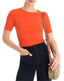 J.Crew Perfect Fit Elbow Sleeve Tee