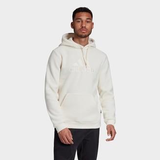 adidas Men's Sherpa Winter Hoodie