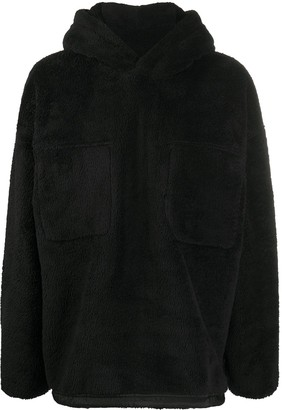 goodboy Oversized Shearling Hoodie