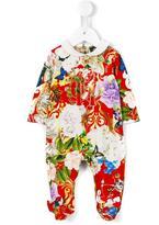 Roberto Cavalli floral print pyjamas